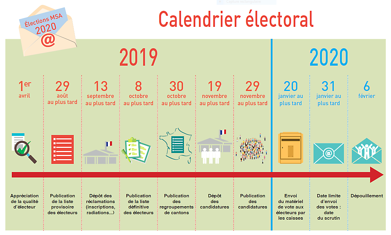 Calendrier Electoral 2019.Msa Calendrier Electoral